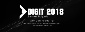 DIGIT Festival 2018: Hackathon for Digital Entrepreneurship in Bulgaria