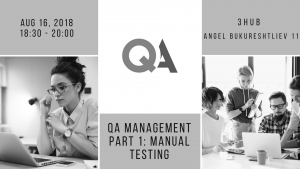 QA Management Part 1: Manual Testing