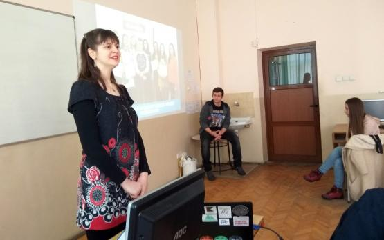 Meetup at math school Maria Totova